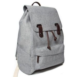 Everlane Reverse Denim Snap Backpack